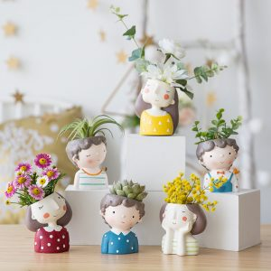 1I820021 Flower Pot Decoration Indoor Cheap Sale (11)