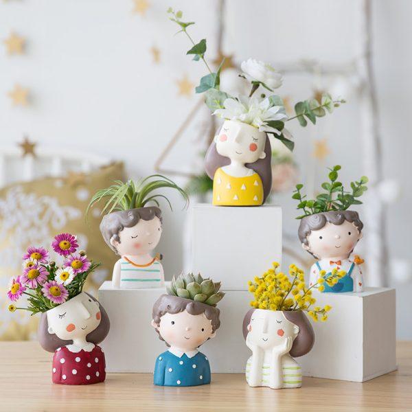 1I820021 Flower Pot Decoration Indoor Cheap Sale (11)