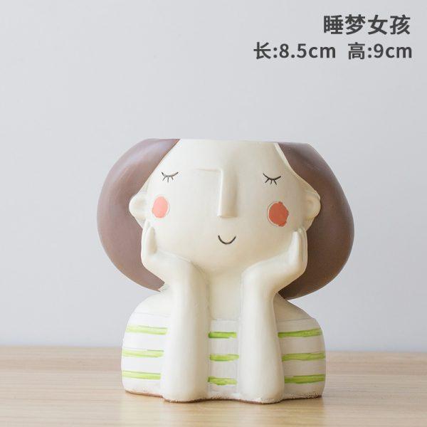 1I820021 Flower Pot Decoration Indoor Cheap Sale (12)