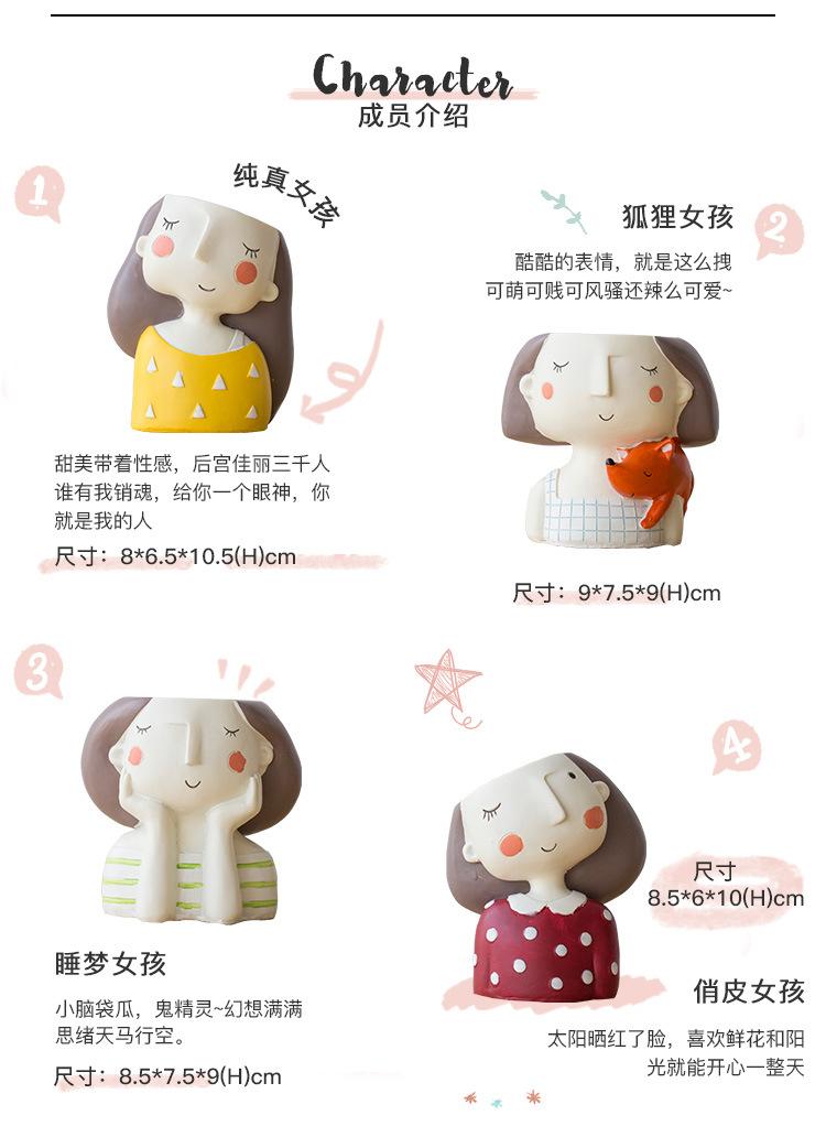 1I820021 Flower Pot Decoration Indoor Cheap Sale (17)