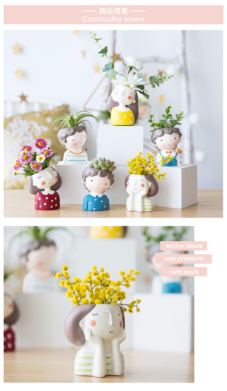 1I820021 Flower Pot Decoration Indoor Cheap Sale (19)