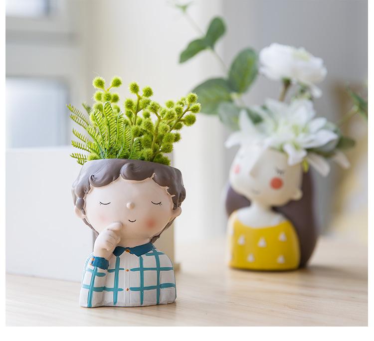 1I820021 Flower Pot Decoration Indoor Cheap Sale (21)
