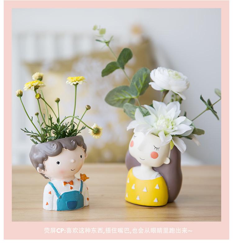 1I820021 Flower Pot Decoration Indoor Cheap Sale (22)