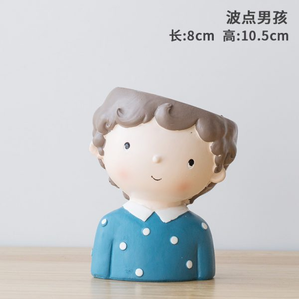 1I820021 Flower Pot Decoration Indoor Cheap Sale (4)