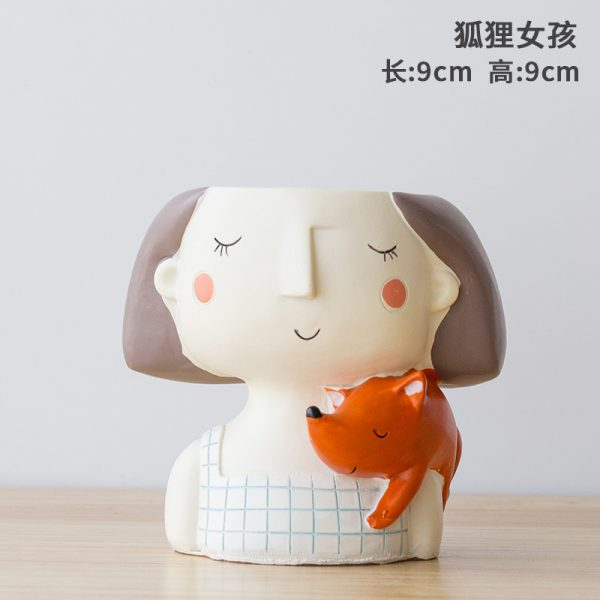 1I820021 Flower Pot Decoration Indoor Cheap Sale (5)