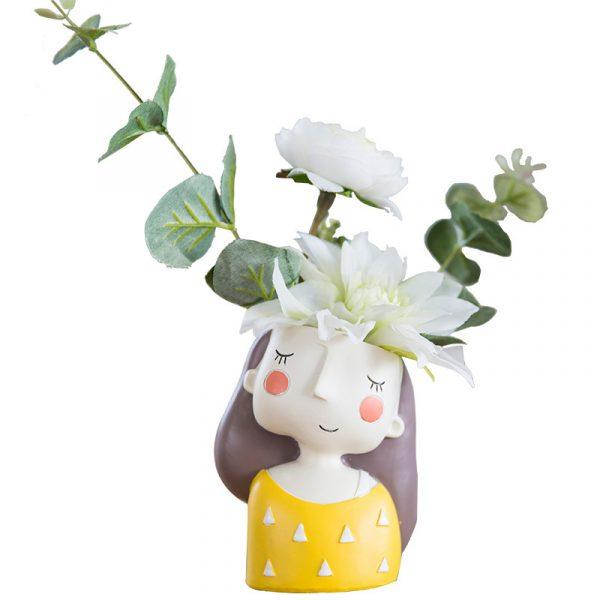 1I820021 Flower Pot Decoration Indoor Cheap Sale (7)