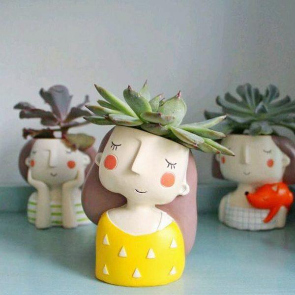 1I820021 Flower Pot Decoration Indoor Cheap Sale (8)