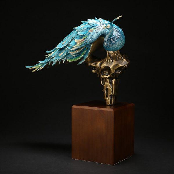 1I904061 Peacock Figurine Online Sale (2)