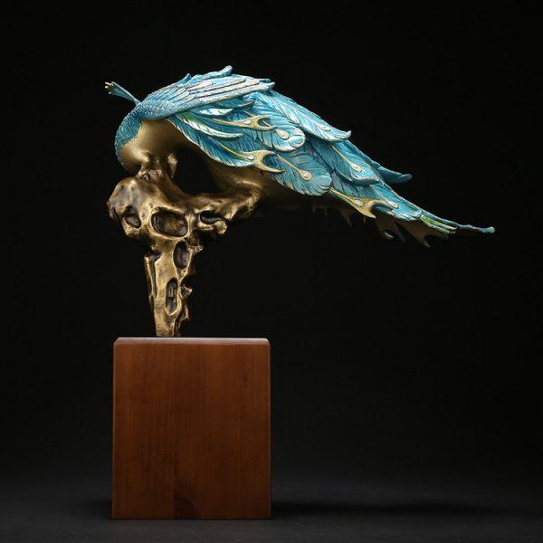 1I904061 Peacock Figurine Online Sale (3)
