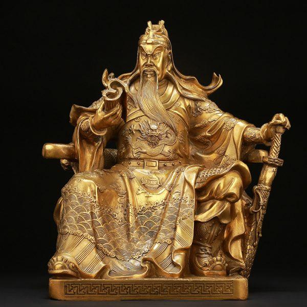 1I904062 Guan Gong Statue Cheap Sale (2)