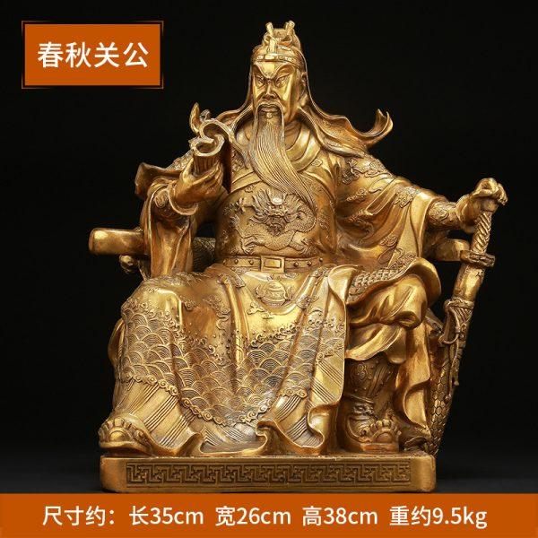 1I904062 Guan Gong Statue Cheap Sale (5)