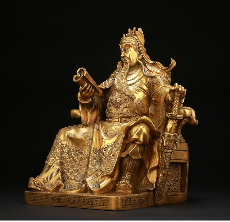 1I904062 Guan Gong Statue Cheap Sale (9)