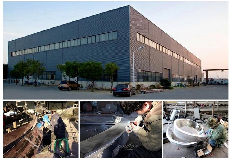1IC18002 Modern Stainless Steel Sculpture Manufacturer (3)