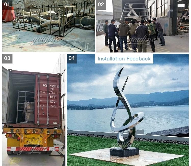 1IC18002 Modern Stainless Steel Sculpture Manufacturer (7)
