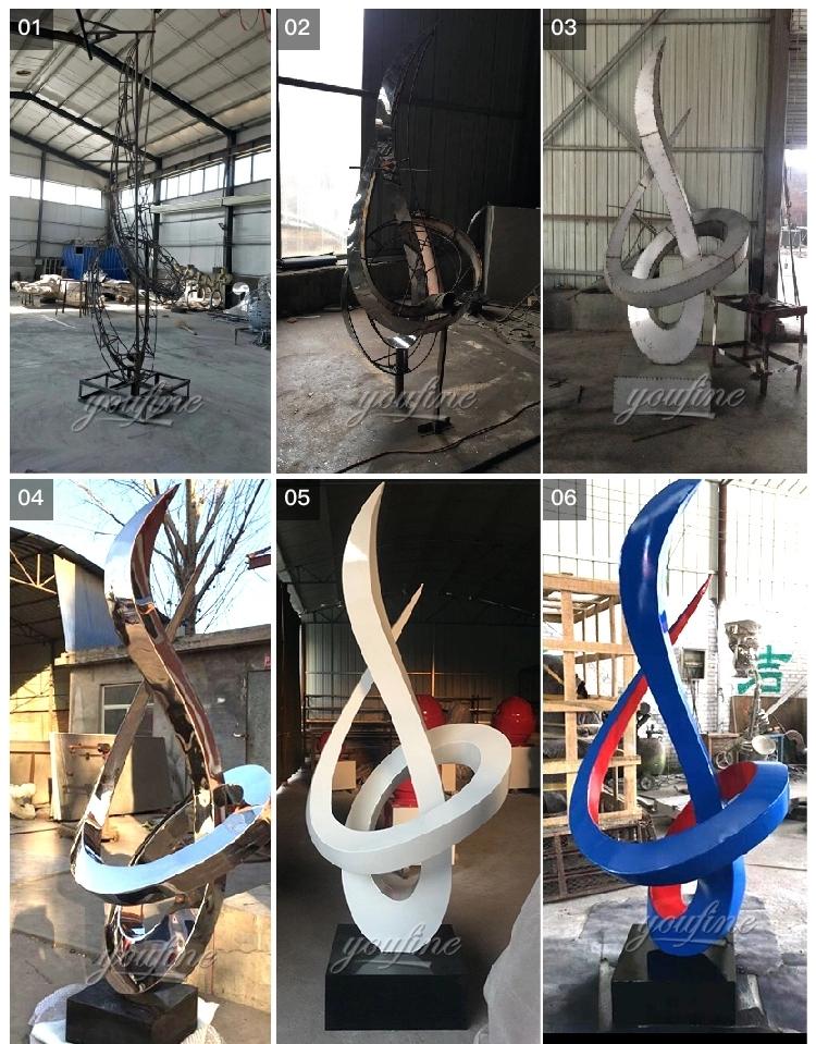 1IC18002 Modern Stainless Steel Sculpture Manufacturer (8)