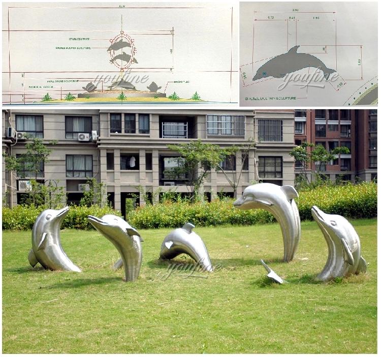 1IC18002 Modern Stainless Steel Sculpture Manufacturer (9)