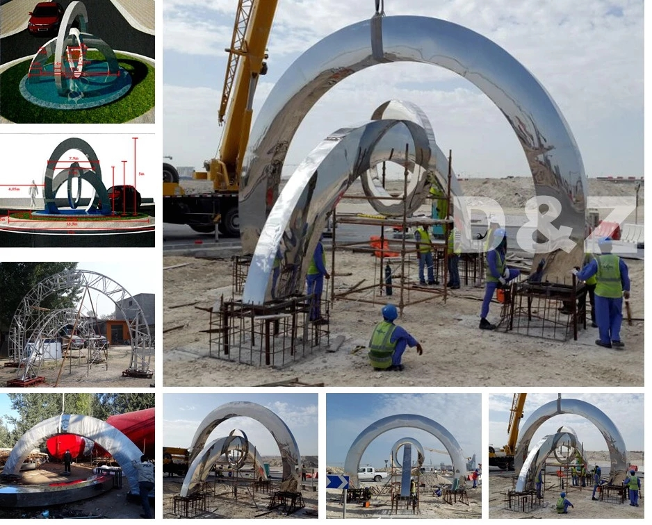 Stainless Steel Sculpture UK Supplier