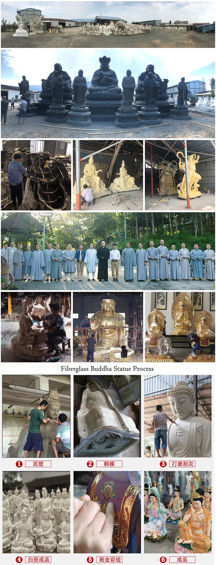 Fiberglass Buddha Statue Process Main