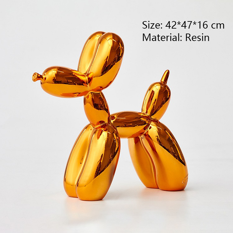 Large Balloon Dog Sculpture Customized