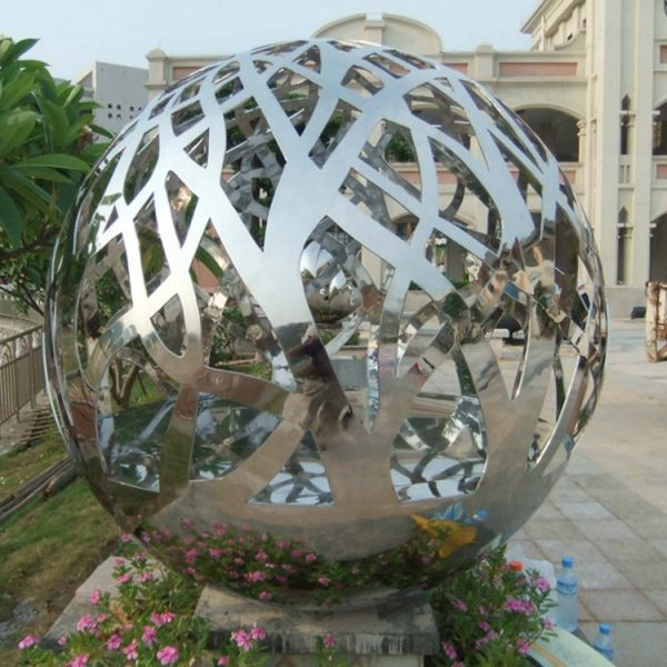 modern garden sculptures stainless steel (3)