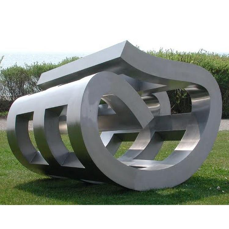 Modern Garden Sculptures Stainless Steel