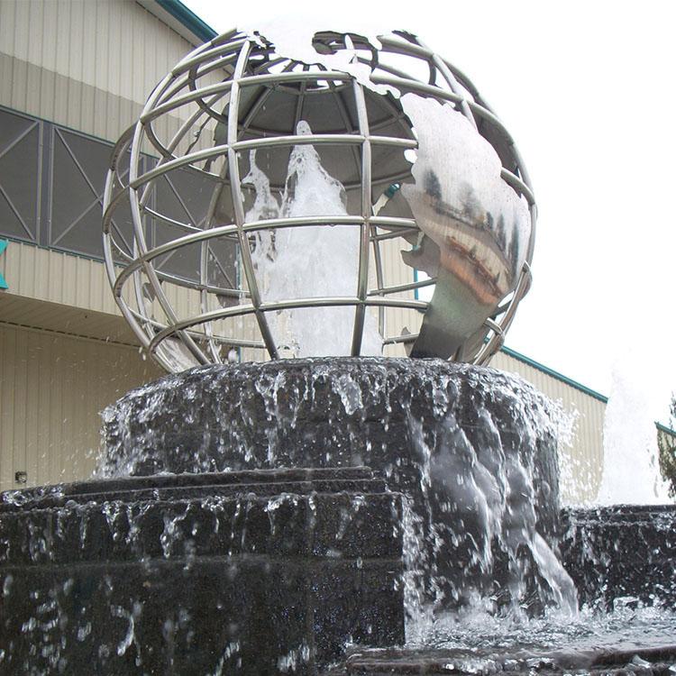 World Map Sculpture Manufacturer