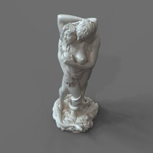 1J413001 adam and eve statue sculpture snake (6)