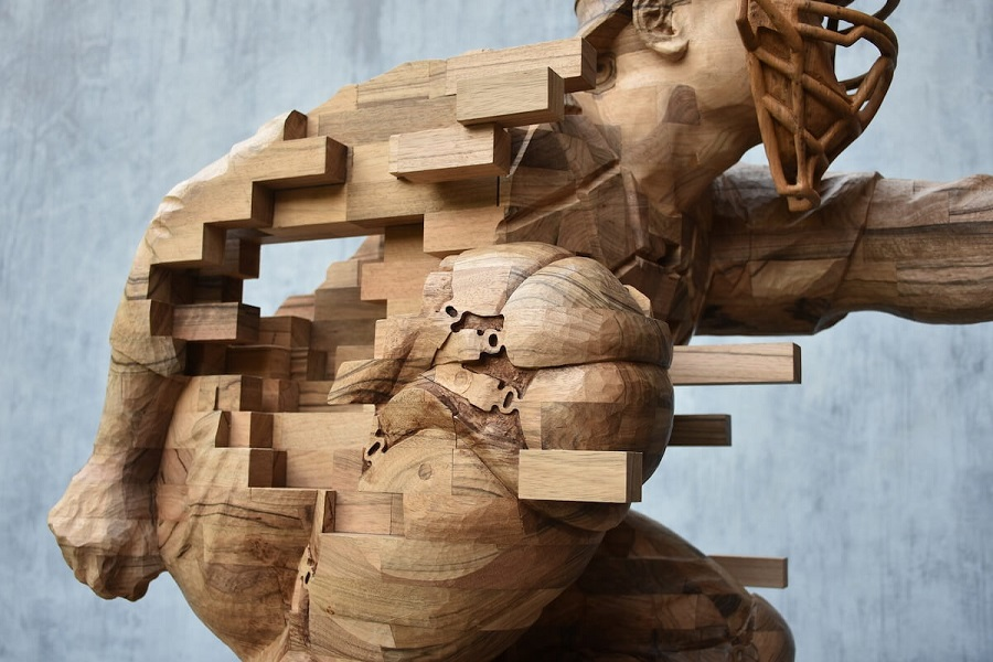 wood sculpture materials