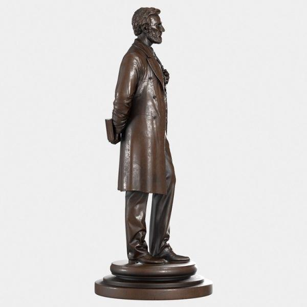 1J506002 Abraham Lincoln Sculpture Maker (1)