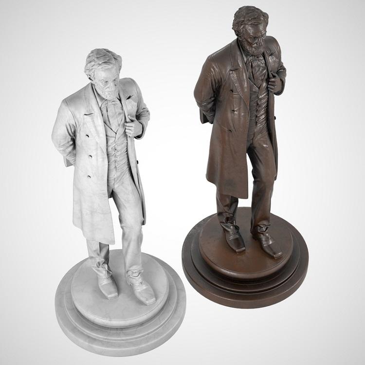 1J506002 Abraham Lincoln Sculpture Maker (4)