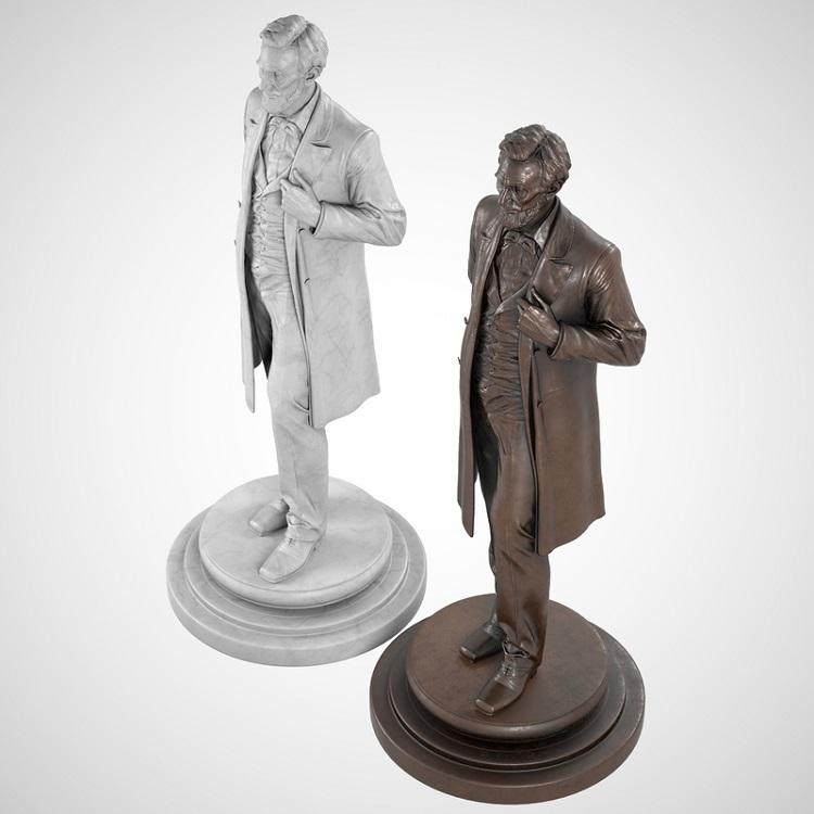 1J506002 Abraham Lincoln Sculpture Maker (6)