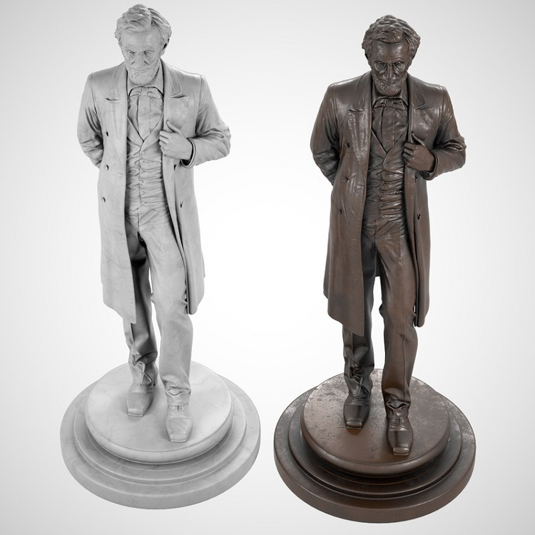 1J506002 Abraham Lincoln Sculpture Maker (7)