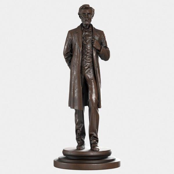 1J506002 Abraham Lincoln Sculpture Maker (9)