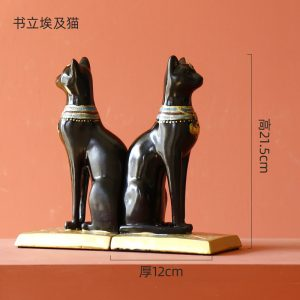 1J526001 Bookend 40 bastet statue for sale