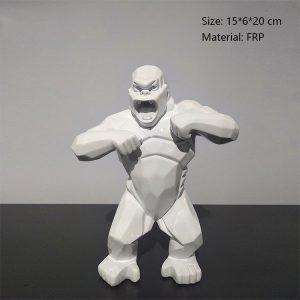 02 Life Size Resin Gorilla