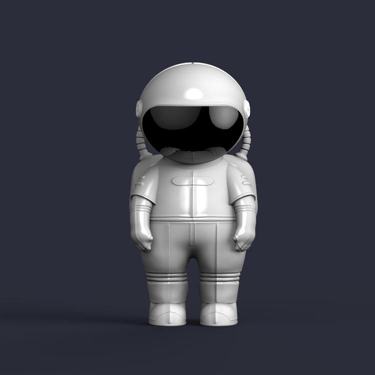 1I709065 Astronaut Statue For Sale