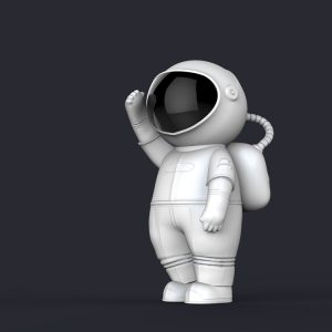 1I709065 life size astronaut statue