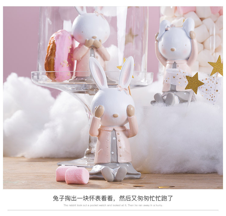 Rabbit Figurines Collectibles China Maker Detail (10)