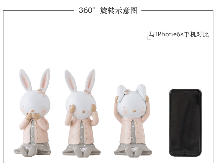 Rabbit Figurines Collectibles China Maker Detail (14)