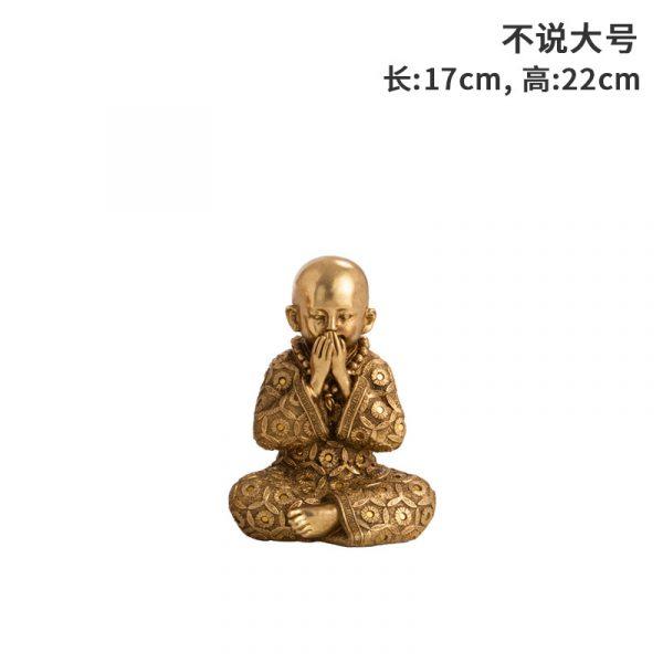speak no evil statue (1)
