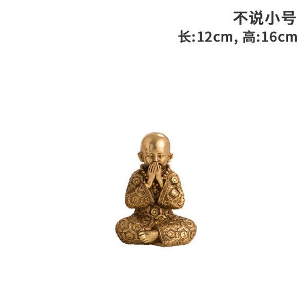 speak no evil statue (2)