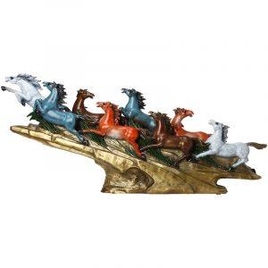 8 running horses feng shui (2)