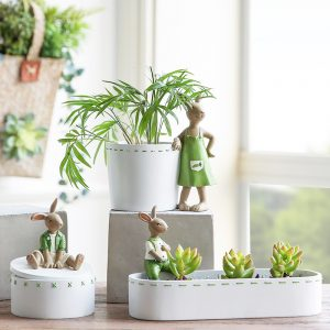 Bunny Flower Pot Wholesale (2)