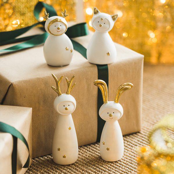 Ceramic Christmas Figurines Sale (2)