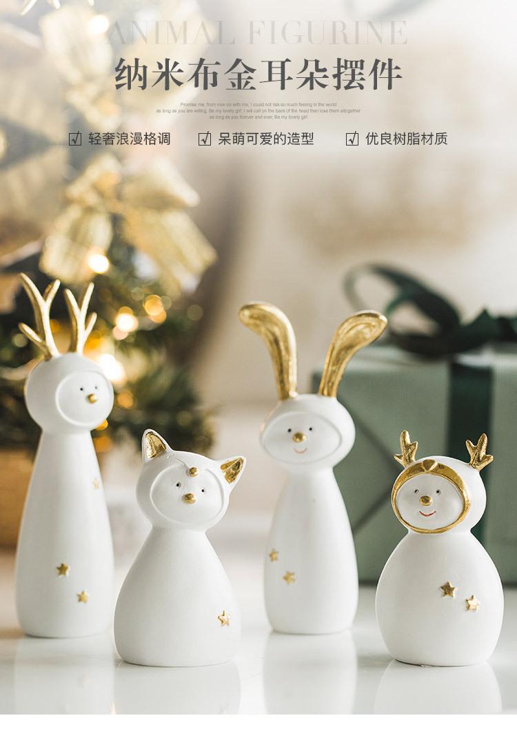 Ceramic Christmas Figurines Sale Detail (1)