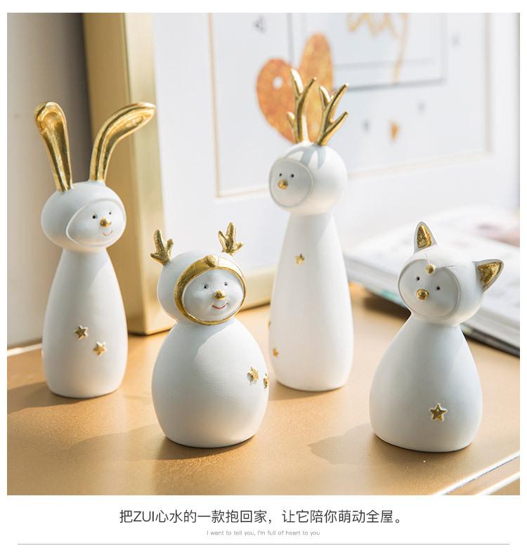 Ceramic Christmas Figurines Sale Detail (11)