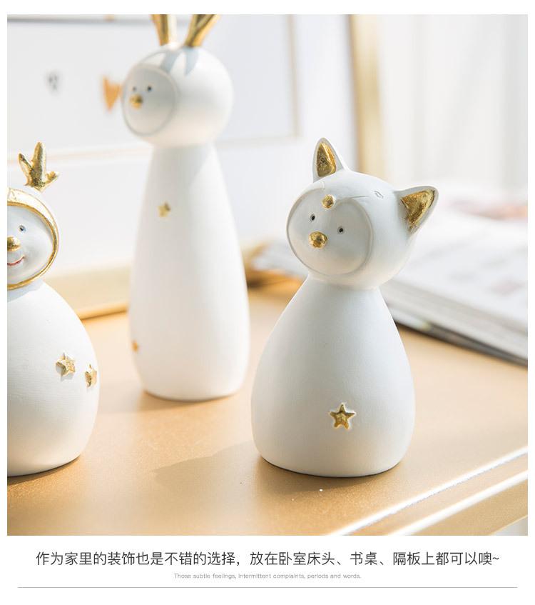 Ceramic Christmas Figurines Sale Detail (12)
