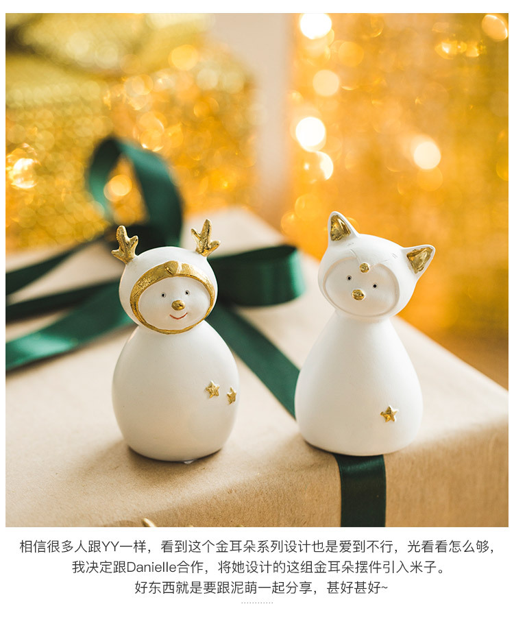 Ceramic Christmas Figurines Sale Detail (3)