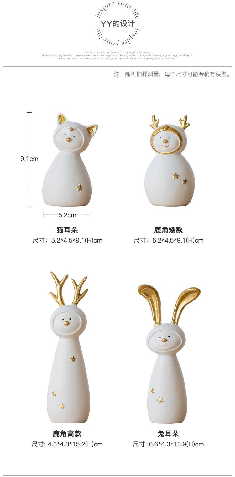 Ceramic Christmas Figurines Sale Detail (4)