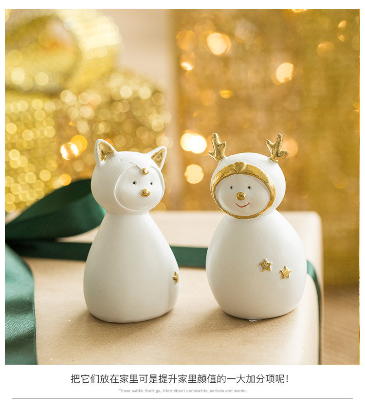 Ceramic Christmas Figurines Sale Detail (6)